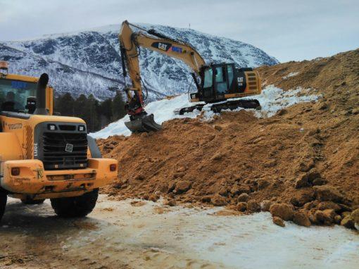 Snølagring Oppdal Skiarena – 2017
