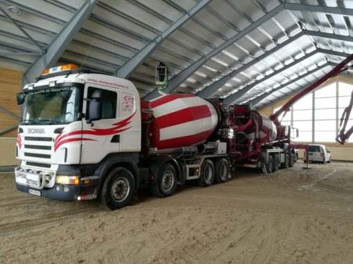 Betongtransport